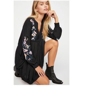Free People Mia Embroidered Dress NWT!